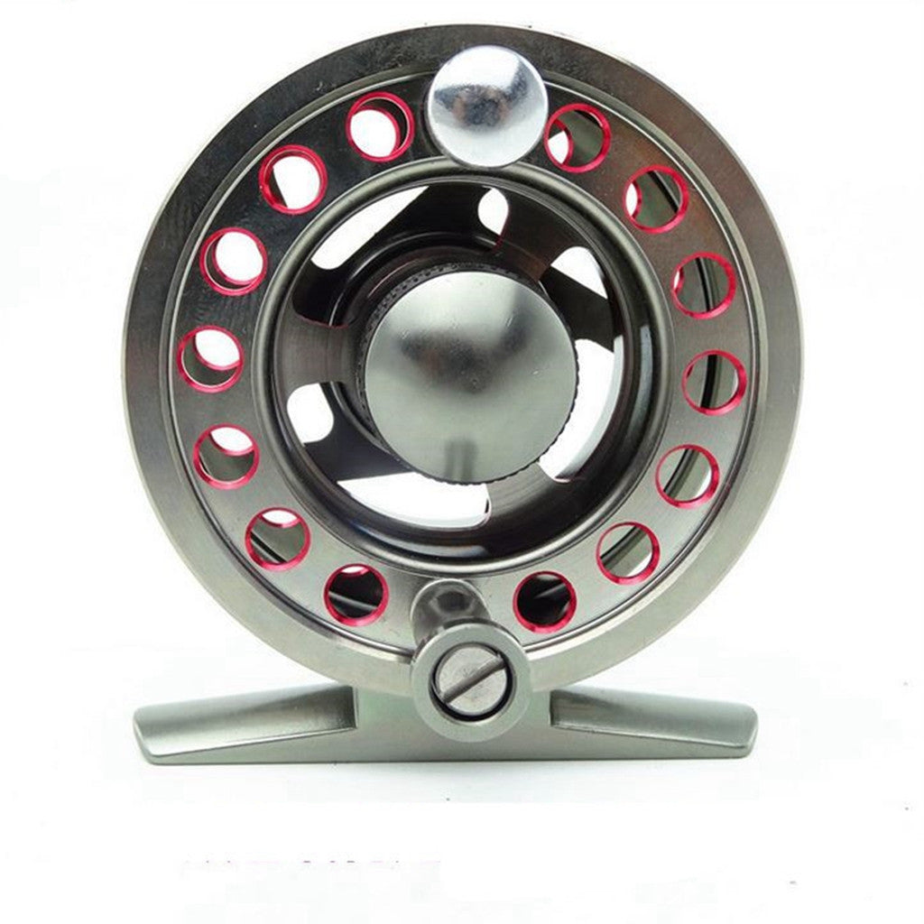 Strength All Metal 135 Reel with Durable CNC-machined Aluminum Alloy Body Fly 135 Reel Size:50.0