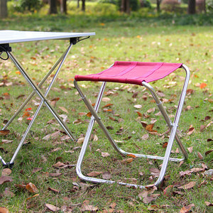 Folding Chair Stool Camping Furniture Stools for Camping Traveling Fishing