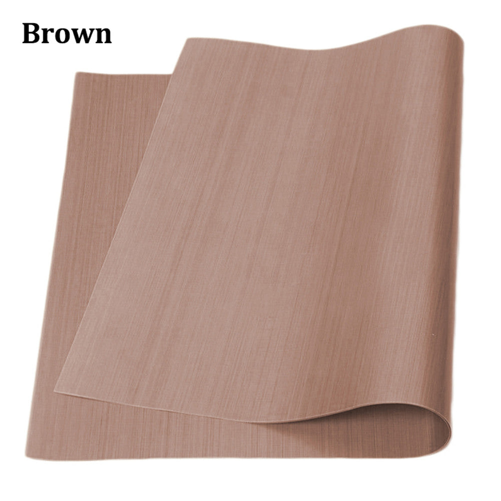 High Temperature Resistance Baking Mat Pad Greaseproof Cooking Paper Oilcloth Dedicated Oven High Temperature Resistance Mat Baking Pan Pad