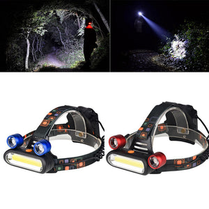Portable Strong Headlights Outdoor Headlamp Camping Hunting Torch Tool