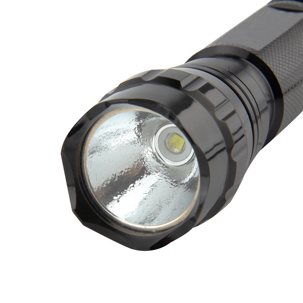 2000LM LED Tactical Flashlight Outdoor Camping Torch with Mount Remote Switch