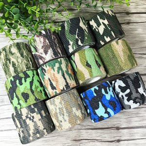 5CMx4.5M Camo Waterproof Wrap Camping Hiking Camouflage Stealth Tape