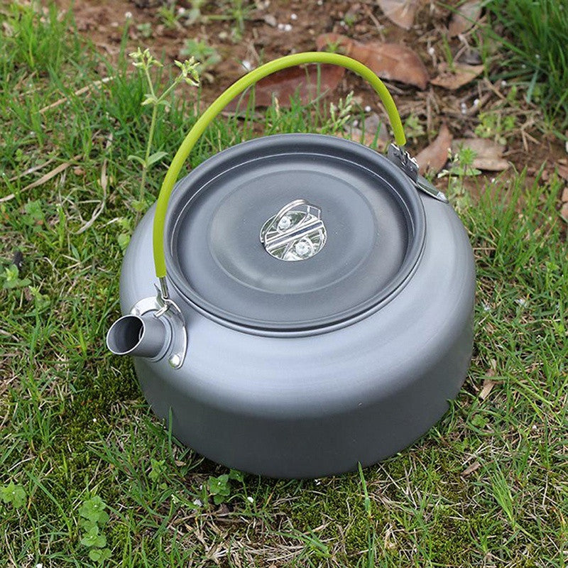Outdoor Aluminum Water Coffee Camping Pots Water Kettle Teapot For Camping Picnic Hiking