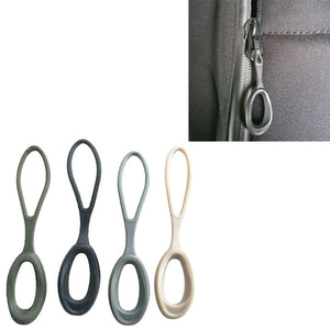 EDC Zipper Tail Rope Pull Cord Rope Ends Lock Zip Clip Buckle 4 Clothing Bags