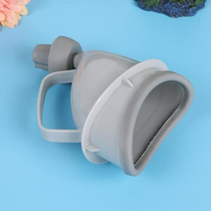 Gray Portable Handheld Women Girl  Urinal for Traveling Blocking Cars Camping