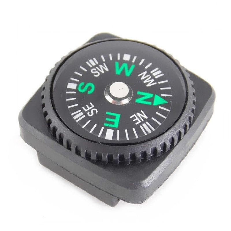 Outdoor Travel Tools 20mm Holster Compass Wrist Watch Webbing Guide Pins