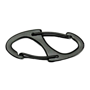 Metal 8 Shaped Buckle EDC Keychain Carabiner Fast Hook Tool Outdoor Camping