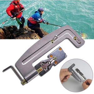 Portable Hook Tier Metal Semi Automatic Machine for Lure Fishing Tie Device