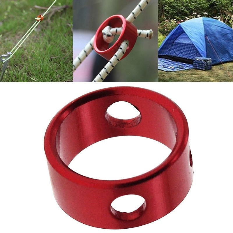 Aluminum Tent Awning Cord Rope Fastener Guy Line Runners Tensioners