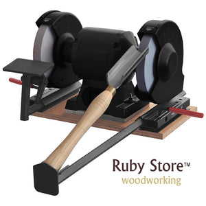 3PCS Sharpening Grinding Jig Attachment Kit for Woodturning Tools, Woodturning Gauges and Grinder Not Included