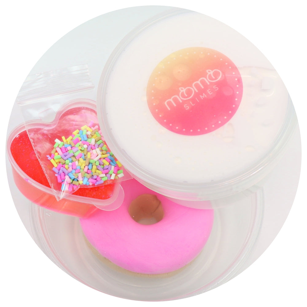 Jelly Glazed Donut DIY Slime Kit