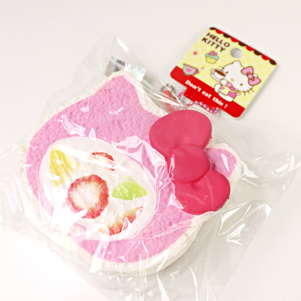 Hello Kitty Cake Roll Squishy