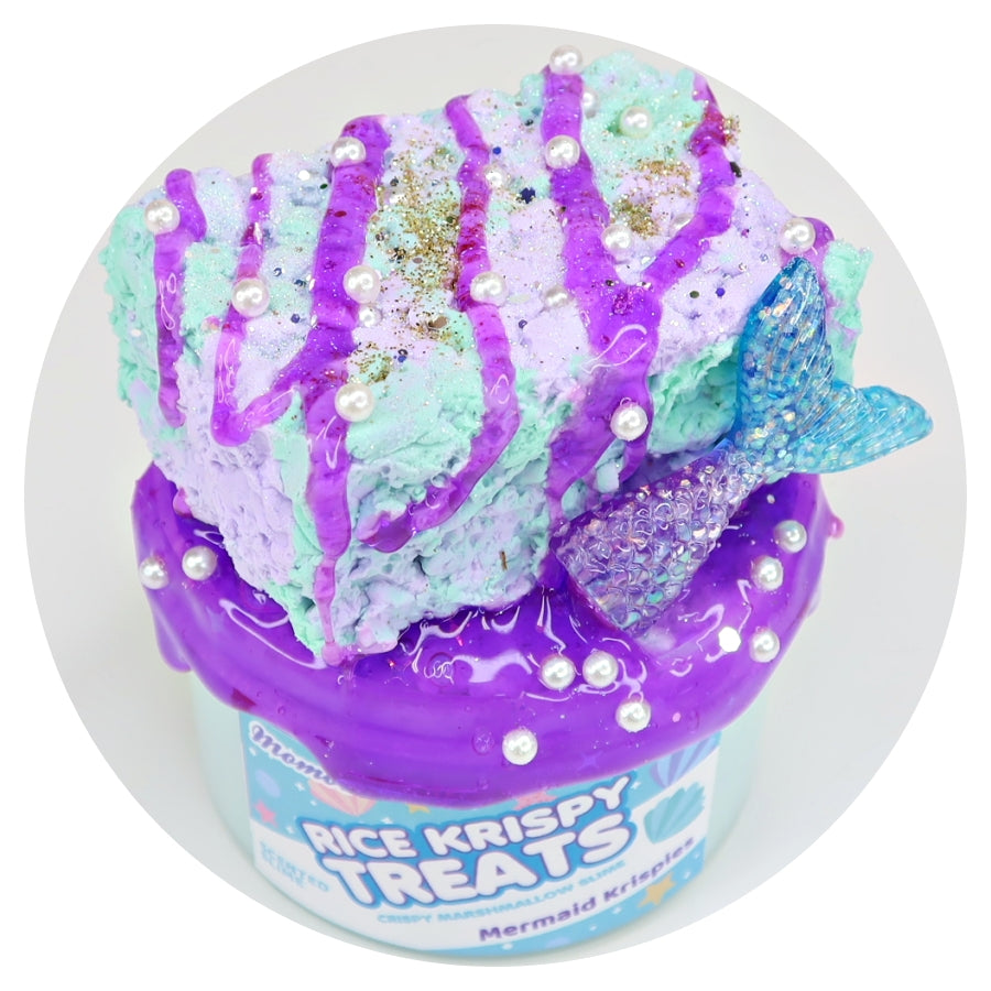 Mermaid Krispy Treats