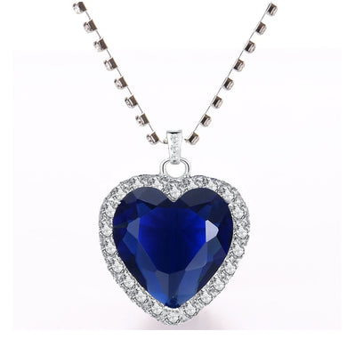 Heart of the Ocean Eternal Love Pendant Necklace