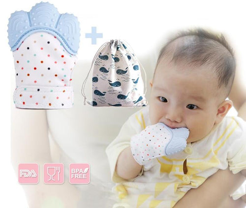 Baby Munching Teething Mitten 1pc
