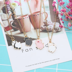 Cute Pig Pendant Necklace