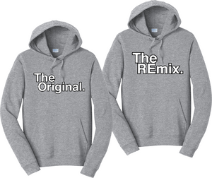 The original & The remix  Unisex Hooded Sweatshirt
