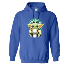 Starbucks Baby Yoda Star Wars Hoodie Unisex Hooded Sweatshirt
