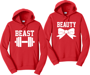 Beauty & Beast Unisex Hooded Sweatshirt