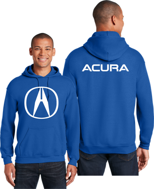 Acura Hoodie Automotive Unisex Hooded Sweatshirt