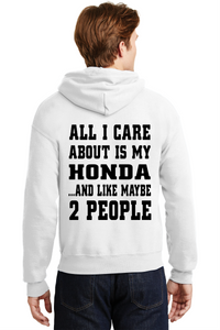 Honda Unisex Hooded Sweatshirt