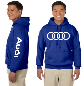 Audi Hooded Sweatshirt German Car S Line Custom Cars Unisex Hoodie