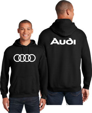 Audi Hoodie Automotive Unisex Hooded Sweatshirt