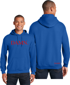 Damn Unisex Hooded Sweatshirt