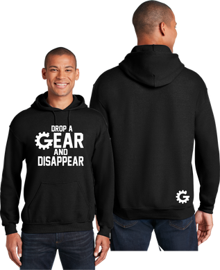 Drop A Gear Hoodie Race Cars Unisex Hooded Sweatshirt
