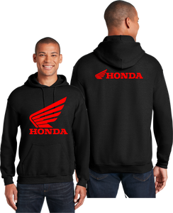 Honda Racing Hoodie Motorcycles Unisex Hooded Sweatshirt