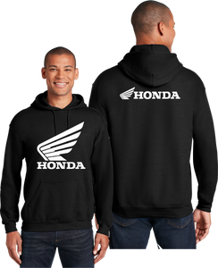 Honda Wings Hoodie Racing Bikes Unisex Hooded Sweatshirt