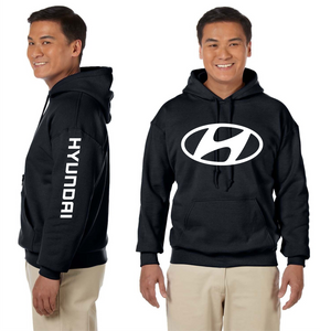 Hyundai Hooded Sweatshirt Raec Cars Automotive Custom Unisex Hoodie