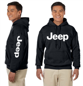 Jeep Hooded Sweatshirt Off Road Motocross Wrangler Trucks Unisex Hoodie