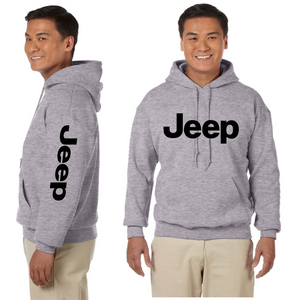 Jeep Unisex Hooded Sweatshirt