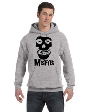 Misfits Hooded Sweatshirt Metal Rock Slipknot Metalica Bands Music Hoodie