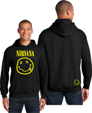 Nirvana Hoodie Rock Band Unisex Hooded Sweatshirt