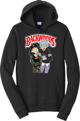 Rick & Morty Backwoods Hoodie Cigarillos Unisex Hooded Sweatshirt