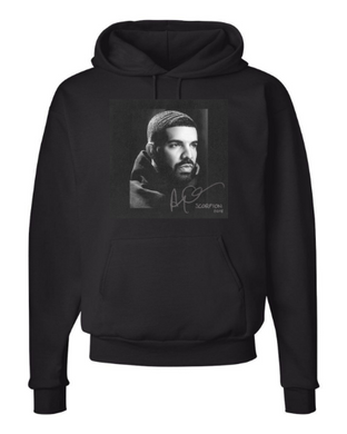 Drake Design Unisex Hooded Sweatshirt