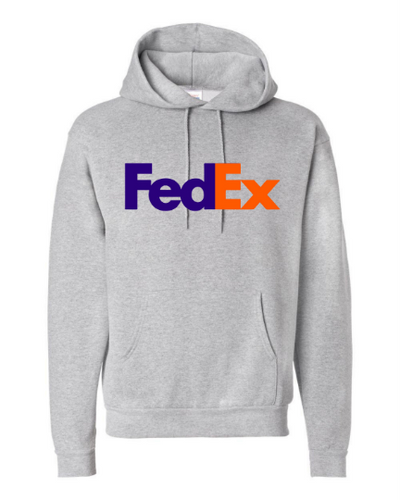 FedEx Design Unisex Hooded Sweatshirt