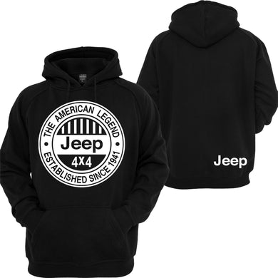 Jeep American Legend Unisex Hooded Sweatshirt