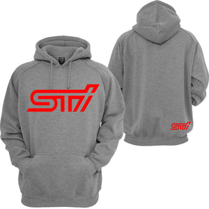 STI Subaru Unisex Hooded Sweatshirt