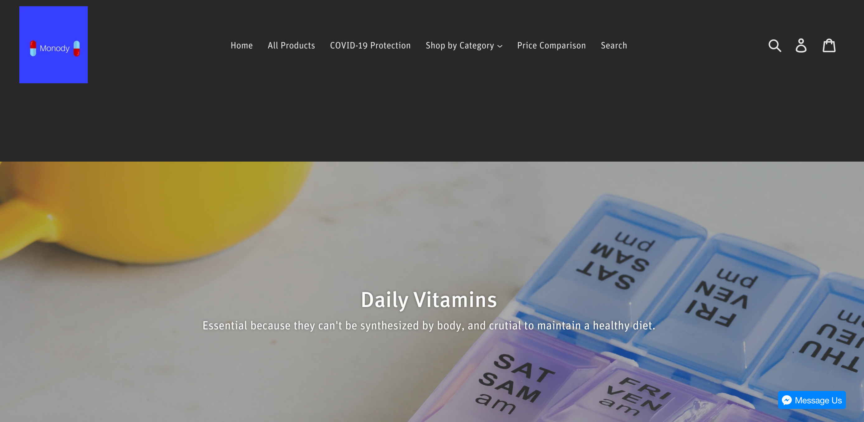 beauty supplement website