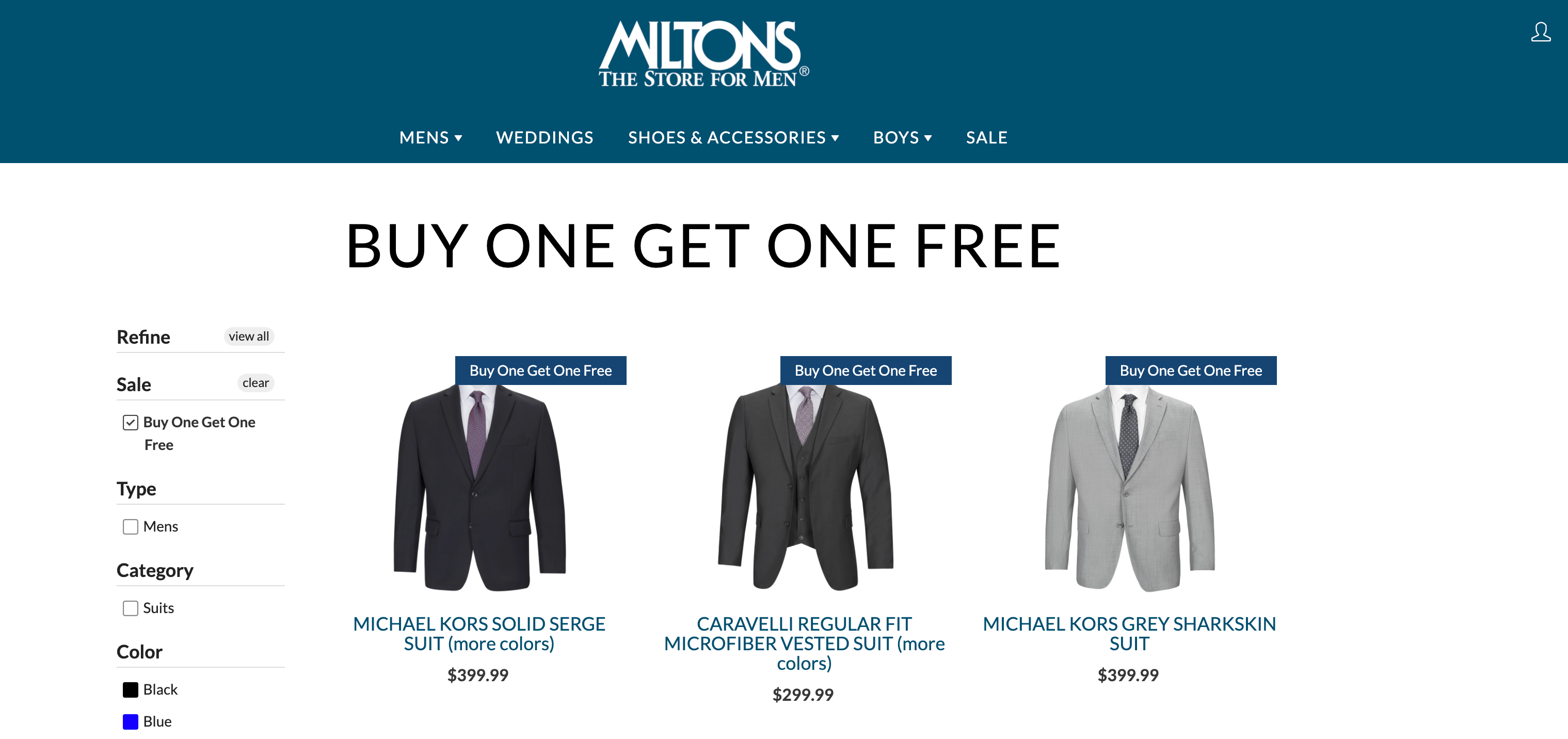 buy one get one free pricing
