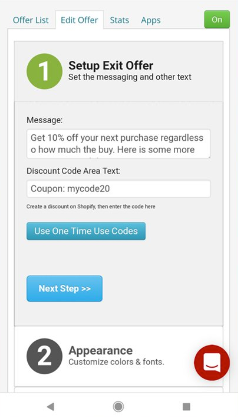 exit offers app