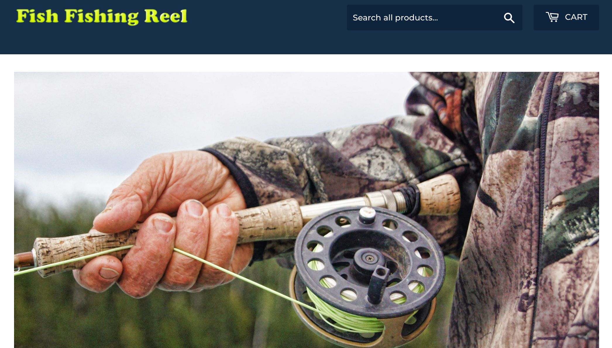 fish fishing reel