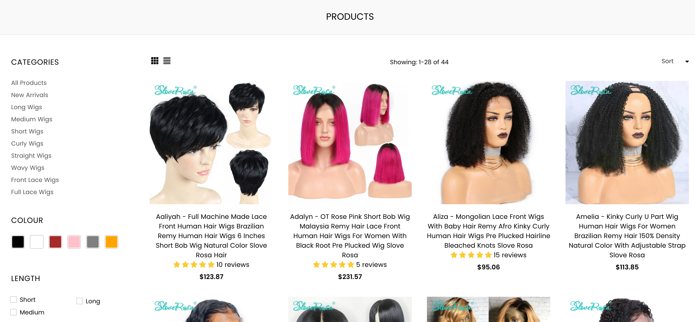 humanhairwigs.co website design