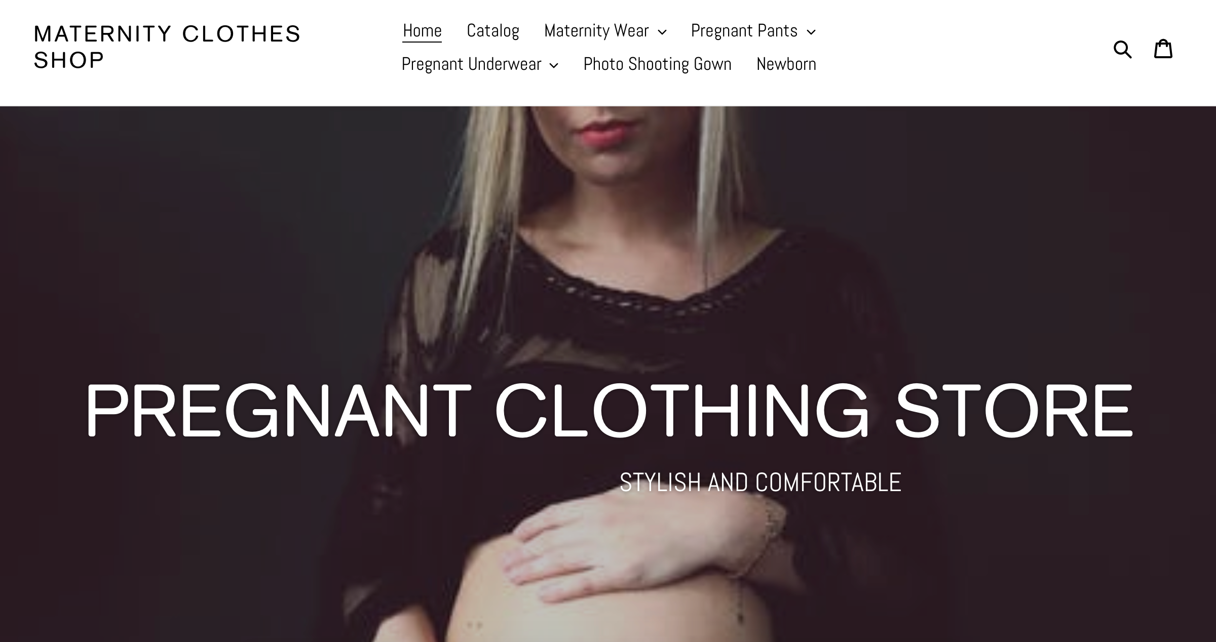 maternity clothes shop