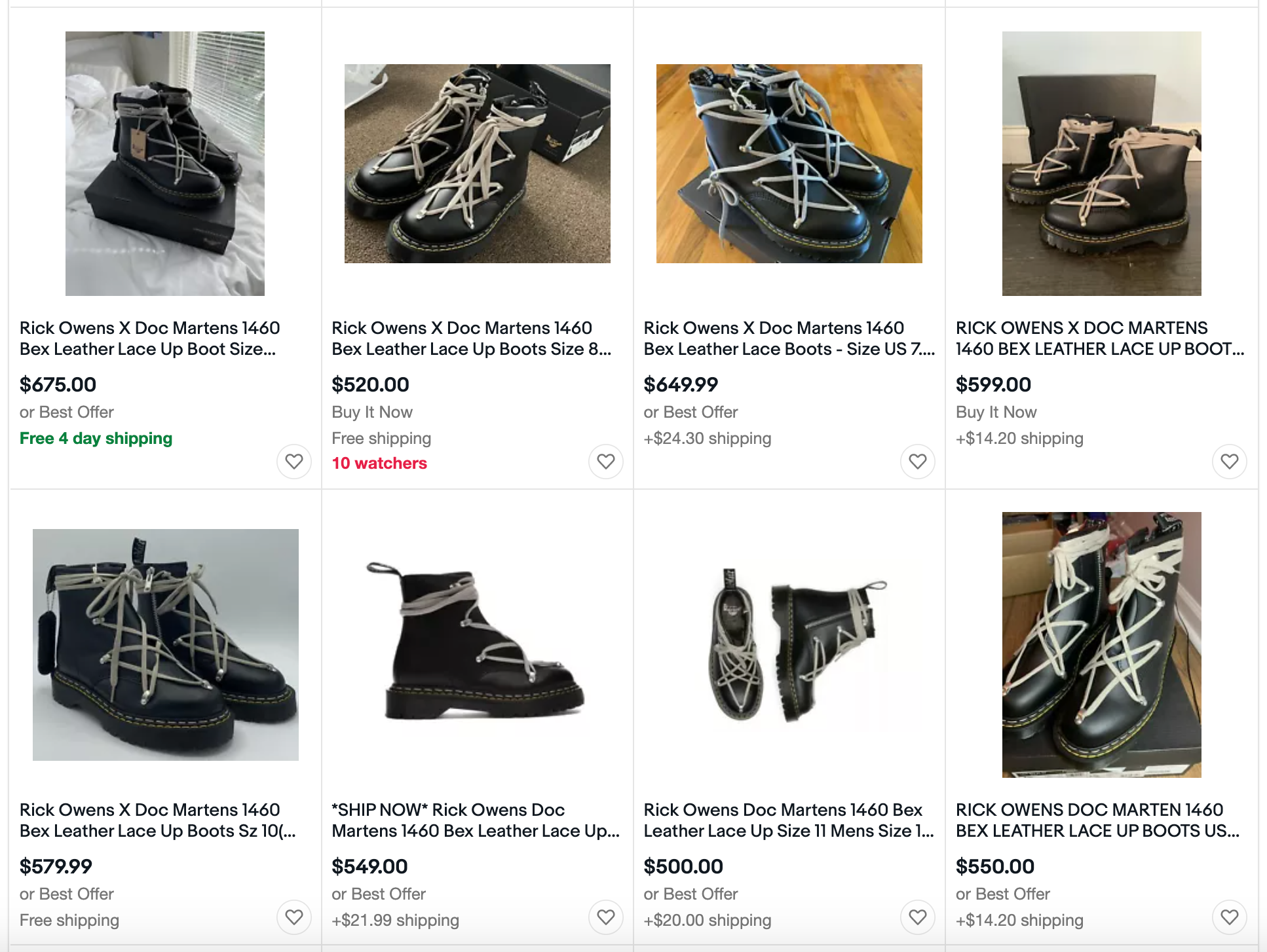value based pricing ebay example