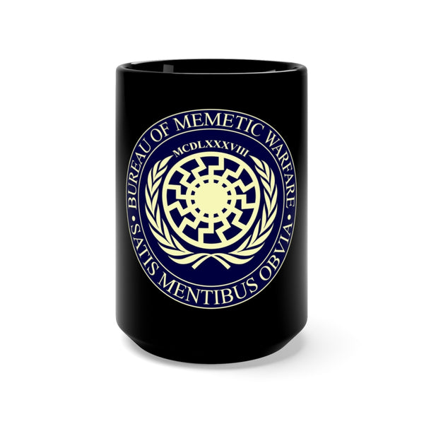 Bureau of Memetic Warfare Black Mug
