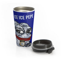 Ice Ice Pepe Travel Mug
